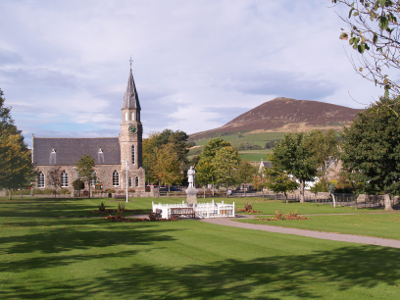 Rhynie square and Tap O Noth