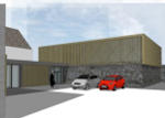 Further development of the village centre